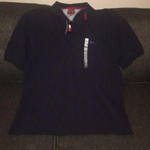 Tommy Hilfiger Large Navy Polo Shirt NWT